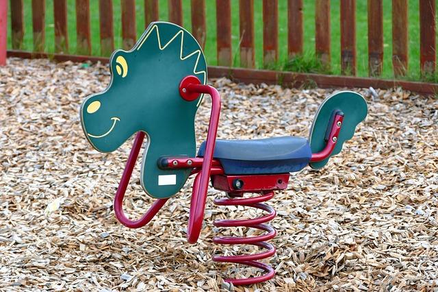 Kid's Playground Rocking Horse