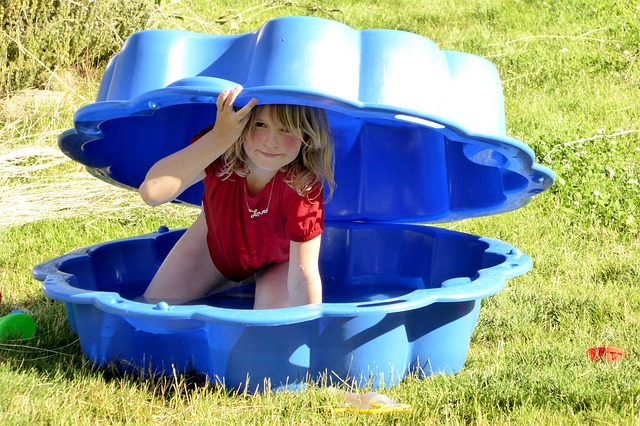 Plastic Shell Paddling Pool